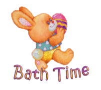 Bath Time - EasterBunnyWithEgg16