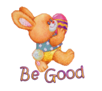 Be Good - EasterBunnyWithEgg16