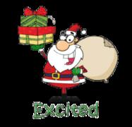 Excited - SantaDeliveringGifts