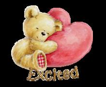 Excited - ValentineBear2016