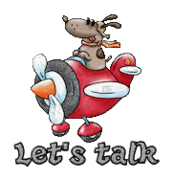 Let's talk - DogFlyingPlane