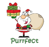Purrfect - SantaDeliveringGifts