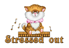 Stressed out - CuteKittenSitting
