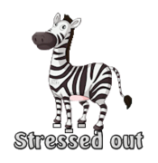 Stressed out - DancingZebra