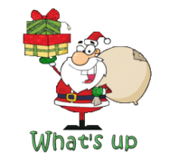 What's up - SantaDeliveringGifts