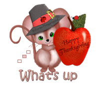 What's up - ThanksgivingMouse