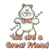You are a Great Friend - HuggingKitten NL16
