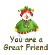 You are a Great Friend - ChristmasJugler