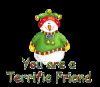 You are a Terrific Friend - ChristmasJugler