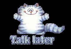 Talk later - CoolDanceMoves
