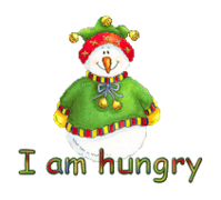 I am hungry - ChristmasJugler