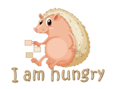 I am hungry - CutePorcupine