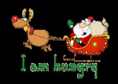 I am hungry - SantaSleigh