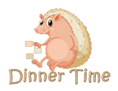 Dinner Time - CutePorcupine