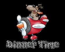 Dinner Time - DogFlyingPlane