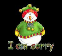 I am sorry - ChristmasJugler