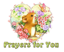Prayers for You - MouseHeartAndFlowers