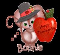 Bonnie - ThanksgivingMouse