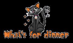 What's for dinner - HalloweenKittySitting