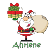 Ahrlene - SantaDeliveringGifts