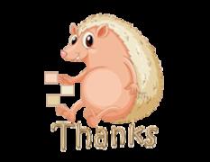 Thanks - CutePorcupine