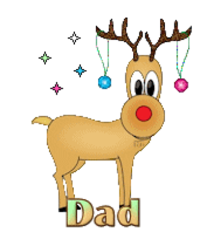 Dad - ChristmasReindeer