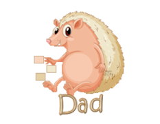 Dad - CutePorcupine