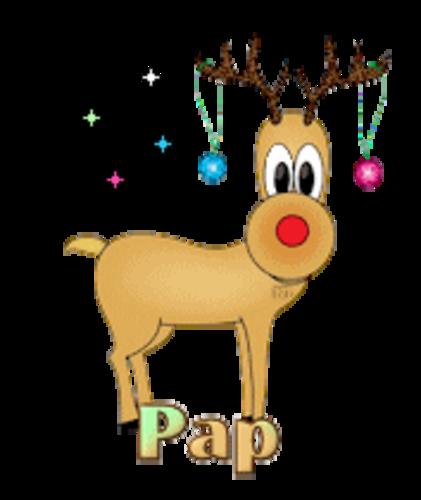 Pap - ChristmasReindeer