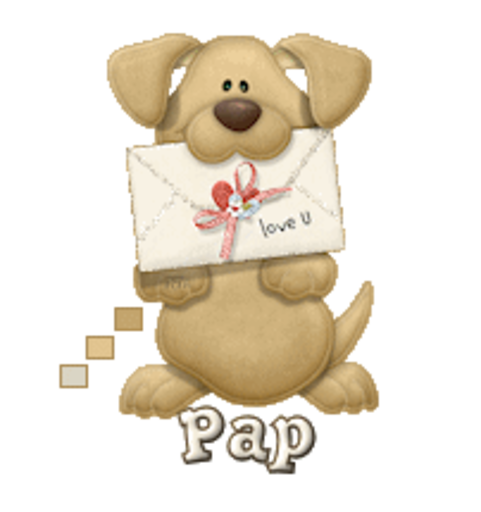Pap - PuppyLoveULetter
