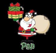 Pap - SantaDeliveringGifts