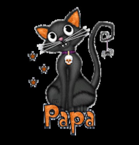 Papa - HalloweenKittySitting