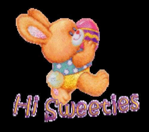 Hi Sweeties - EasterBunnyWithEgg16
