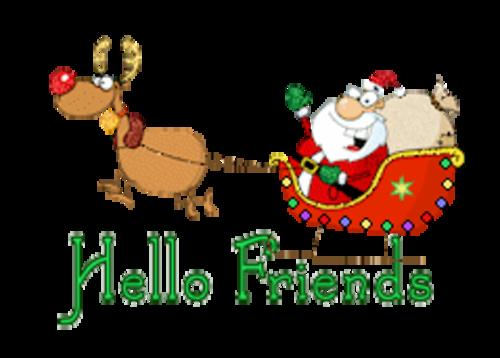 Hello Friends - SantaSleigh
