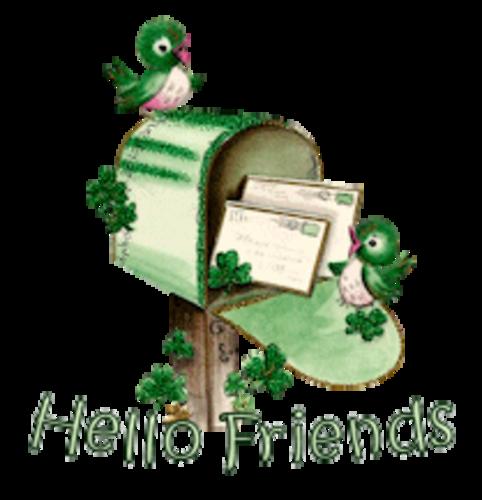 Hello Friends - StPatrickMailbox16
