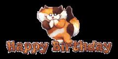 Happy Birthday - GigglingKitten