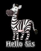 Hello Sis - DancingZebra