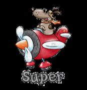 Super - DogFlyingPlane