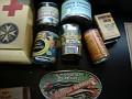 DSCN7948 typical contents of prisoner of war relief package
