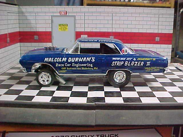 Malcom Durhams '65 Chevelle A-FX l  side