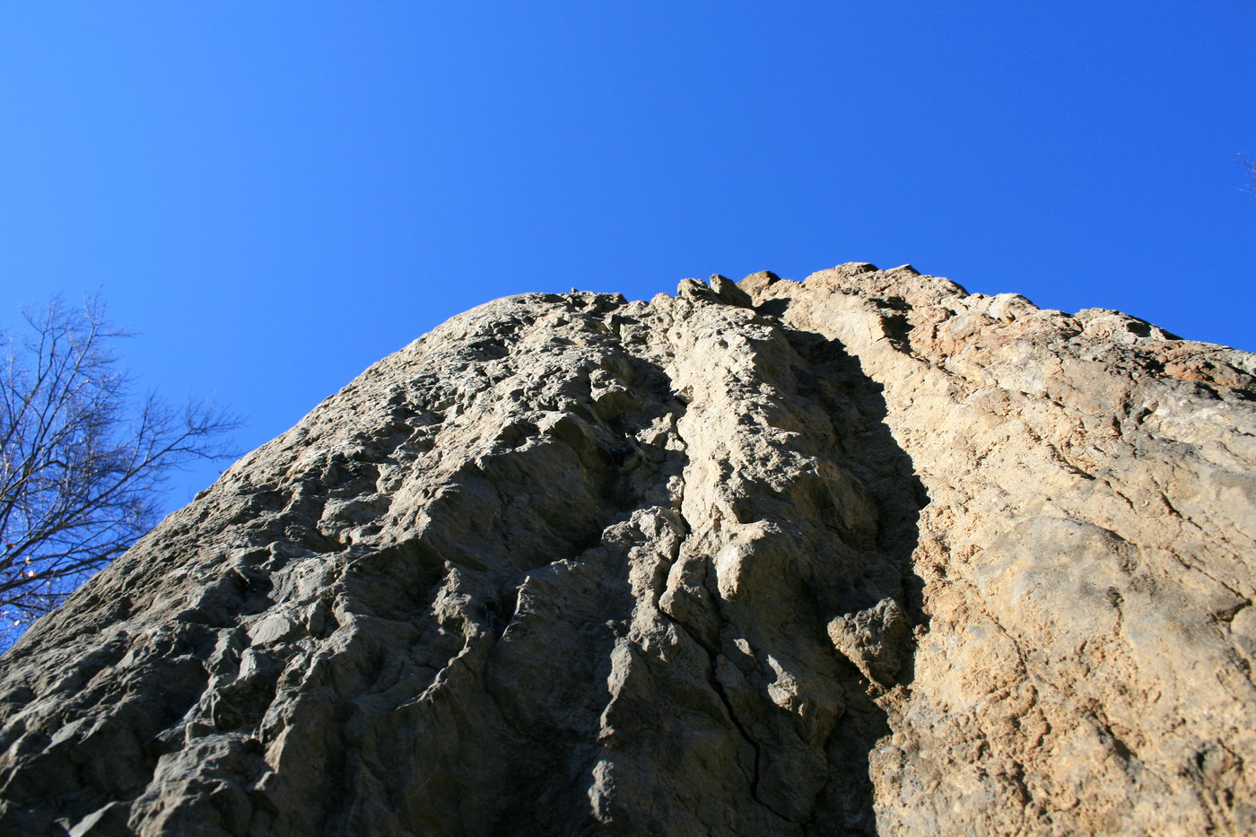 Tall Rock and Sky
