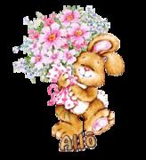 Allo - BunnyWithFlowers
