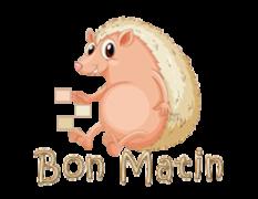 Bon Matin - CutePorcupine