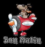 Bon Matin - DogFlyingPlane