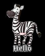 Hello - DancingZebra