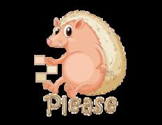 Please - CutePorcupine