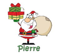 Pierre - SantaDeliveringGifts