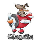 Claudia - DogFlyingPlane