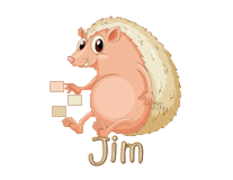 Jim - CutePorcupine