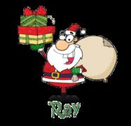 Ray - SantaDeliveringGifts