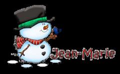 Jean-Marie - Snowman&Bird